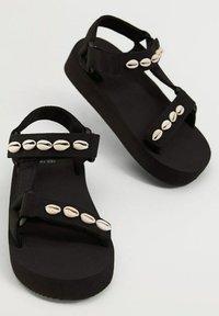 Mango - Sandals - schwarz - 3