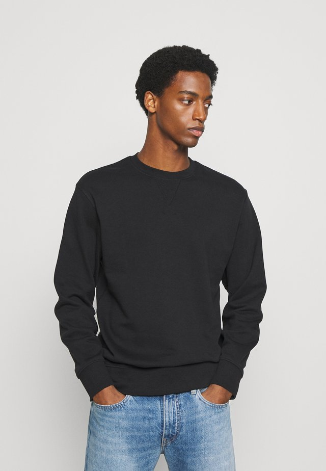 SLHJASON CREW NECK - Collegepaita - black
