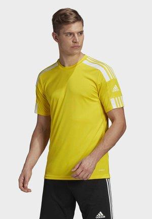 SQUADRA 21 TRIKOT - Camiseta estampada - yellow