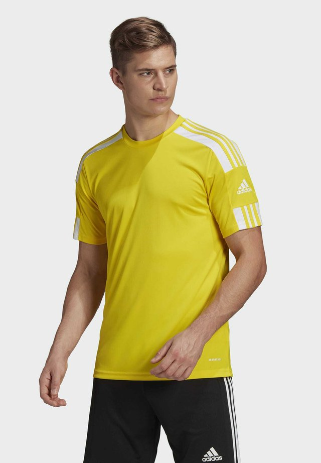 SQUADRA 21 TRIKOT - Print T-shirt - yellow