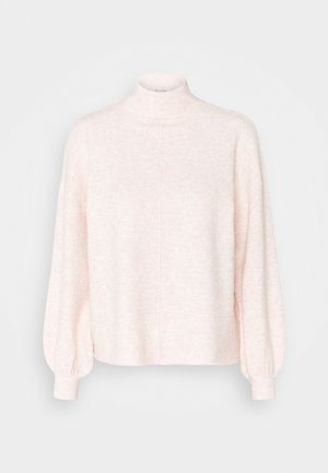 MISS ECO RECYCLED FUNNEL NECK - Jumper - soft pink