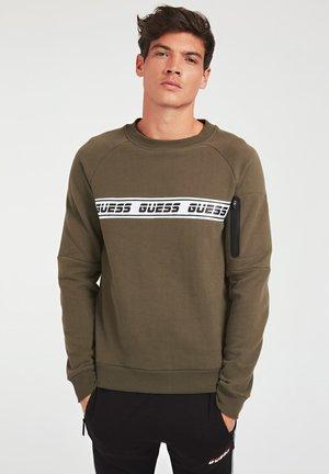 Sweatshirt - dunkelgrün