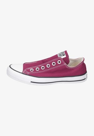 Trainers - rose/maroon