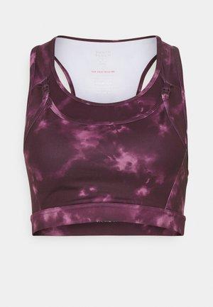 MATERNITY BRA - Sport-BH med lätt stöd - purple