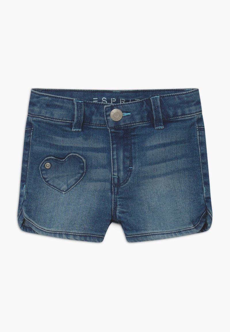 Esprit - Szorty jeansowe - light-blue denim