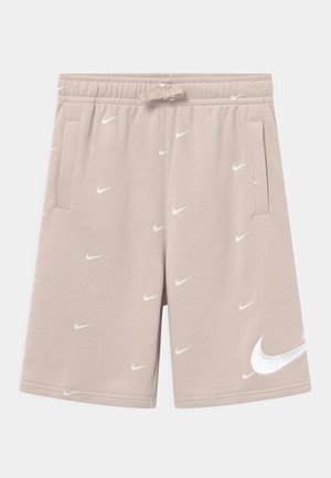 Shorts - desert sand/white