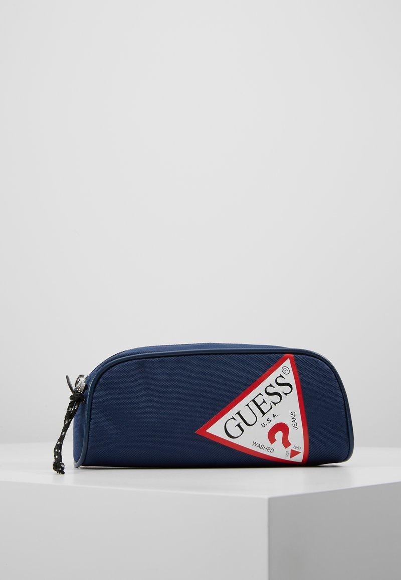 Guess - UNISEX SMALL POUCH - Federmäppchen - deck blue