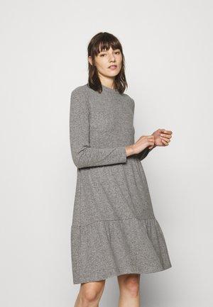 DRESS - Sukienka z dżerseju - warm grey melange