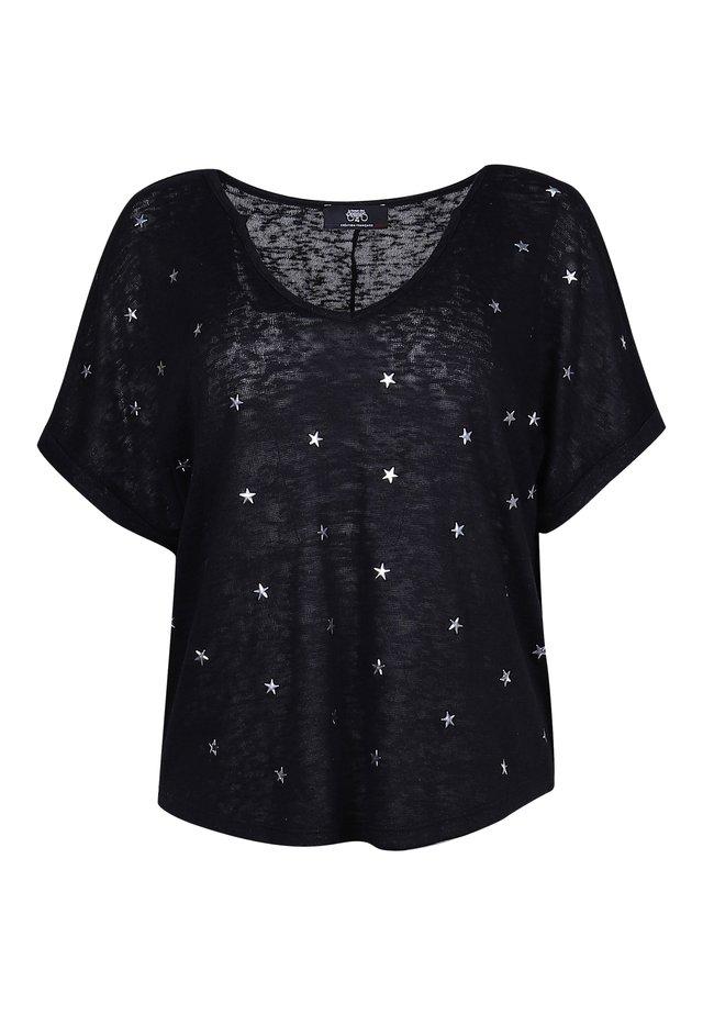 BOTE  - Print T-shirt - black