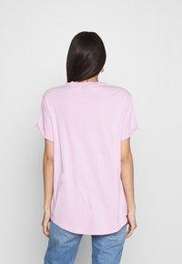 G-Star - LASH FEM LOOSE - Basic T-shirt - lavender pink - 2