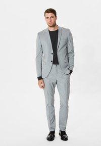 Selected Homme - Puvunhousut - light grey melange - 1