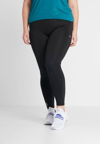ONLY Play - ONPGILL TRAINING CURVY OPUS - Punčochy - black - 0