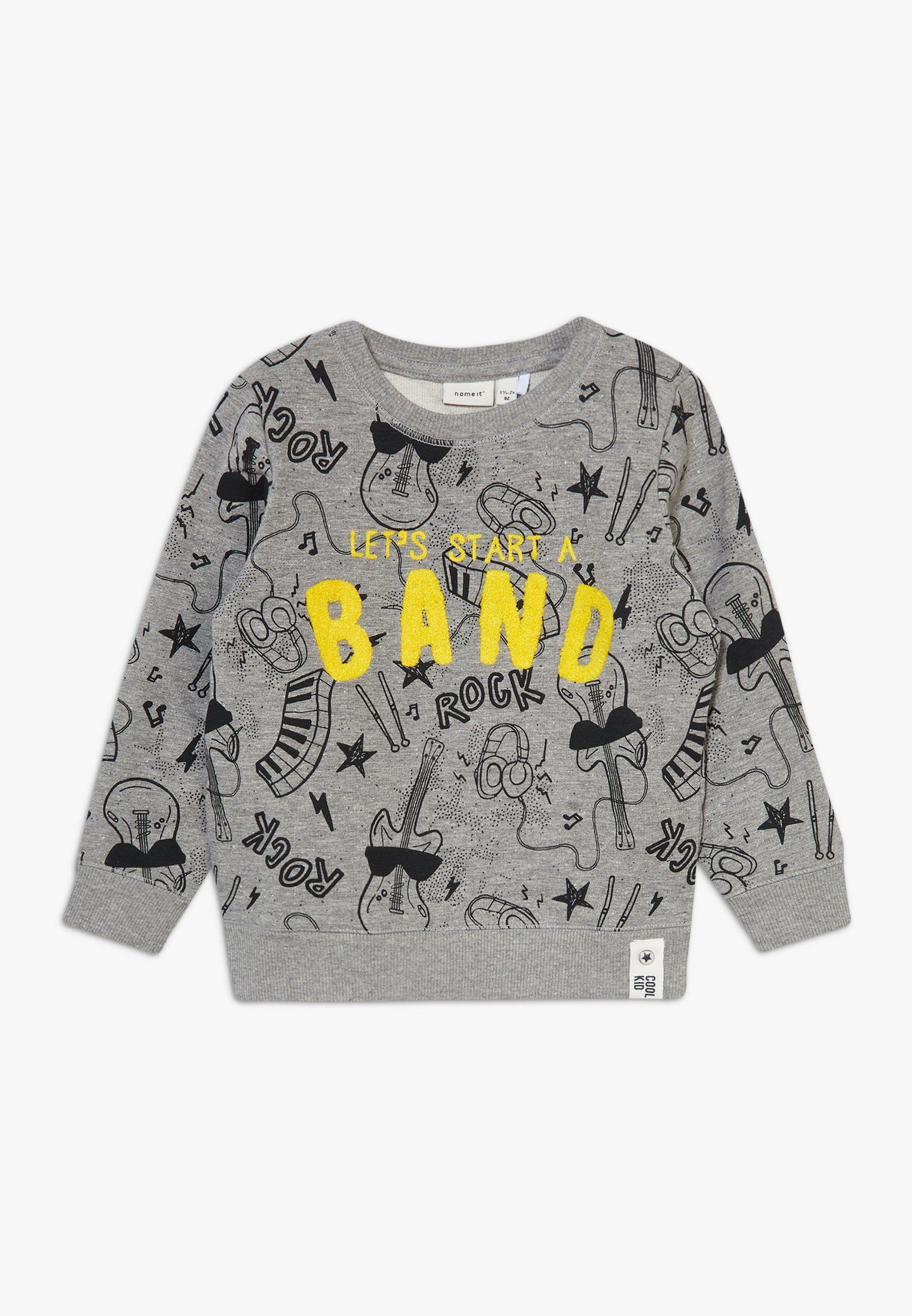 Große Förderung Name it NMMDAROCKY - Sweatshirt - grey melange   Damenbekleidung 2020