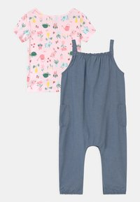 Carter's - CHAMBRAY SET - Print T-shirt - blue - 1