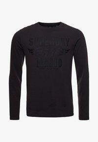 Superdry - Long sleeved top - vintage black - 3