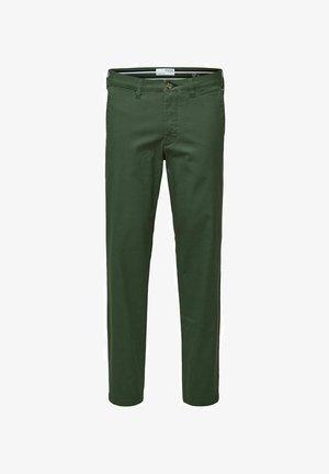 Chino - bronze green