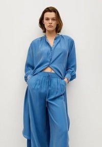 Mango - Trousers - blå - 3