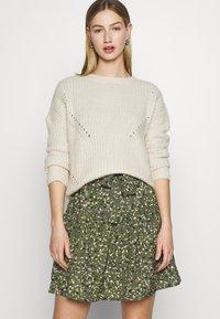 ONLY - ONLTHORA BELT DRESS - Day dress - clover/blurry - 3
