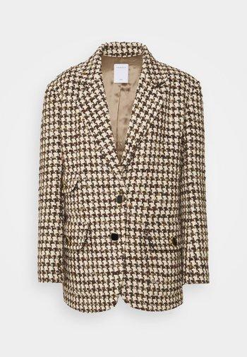 Halflange jas - marron/beige