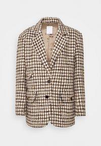 sandro - Short coat - marron/beige - 6