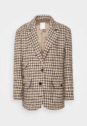 Short coat - marron/beige