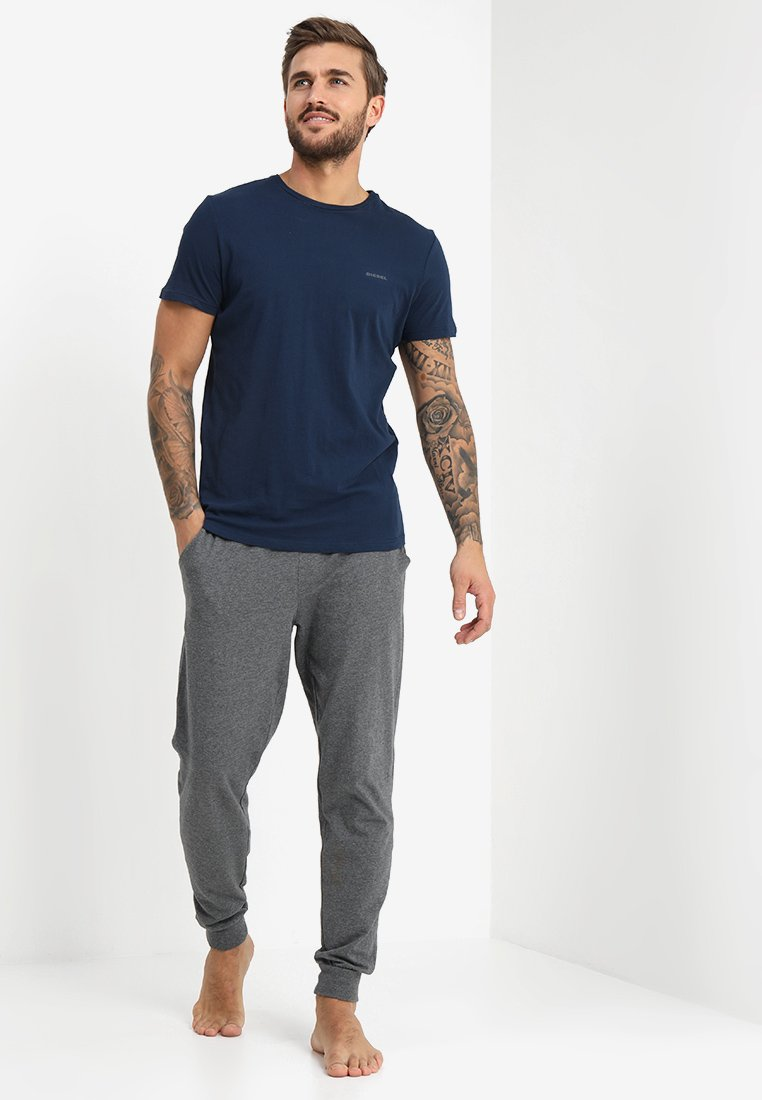Diesel - UMTEE-JAKE 3 PACK - Pyjama top - schwarz/blau/grün