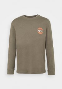 JORCOLTON TEE CREW NECK  - Long sleeved top - dusty olive