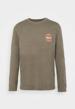JORCOLTON TEE CREW NECK  - T-shirt à manches longues - dusty olive
