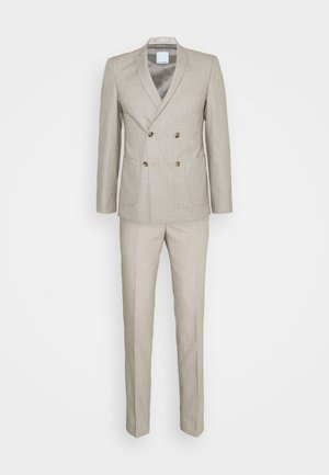 KAARE DOUBLE BREASTED SUIT - Suit - tan