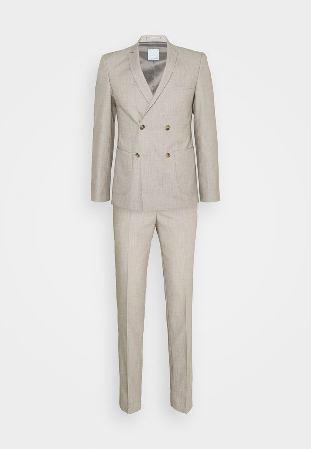 KAARE DOUBLE BREASTED SUIT - Dress - tan