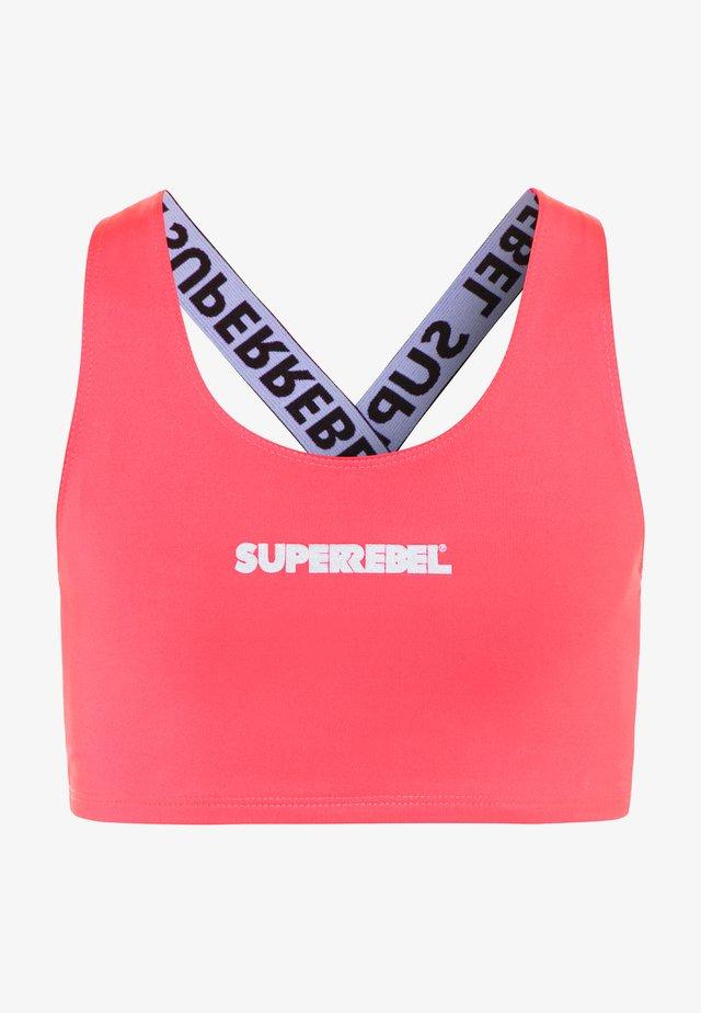 GIRLS SWIM - Bikini top - sugar pink