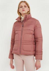 Finn Flare - Winter jacket - dark pink - 0