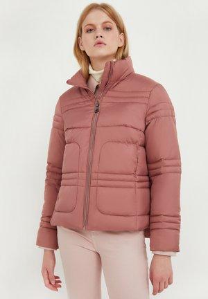Winter jacket - dark pink