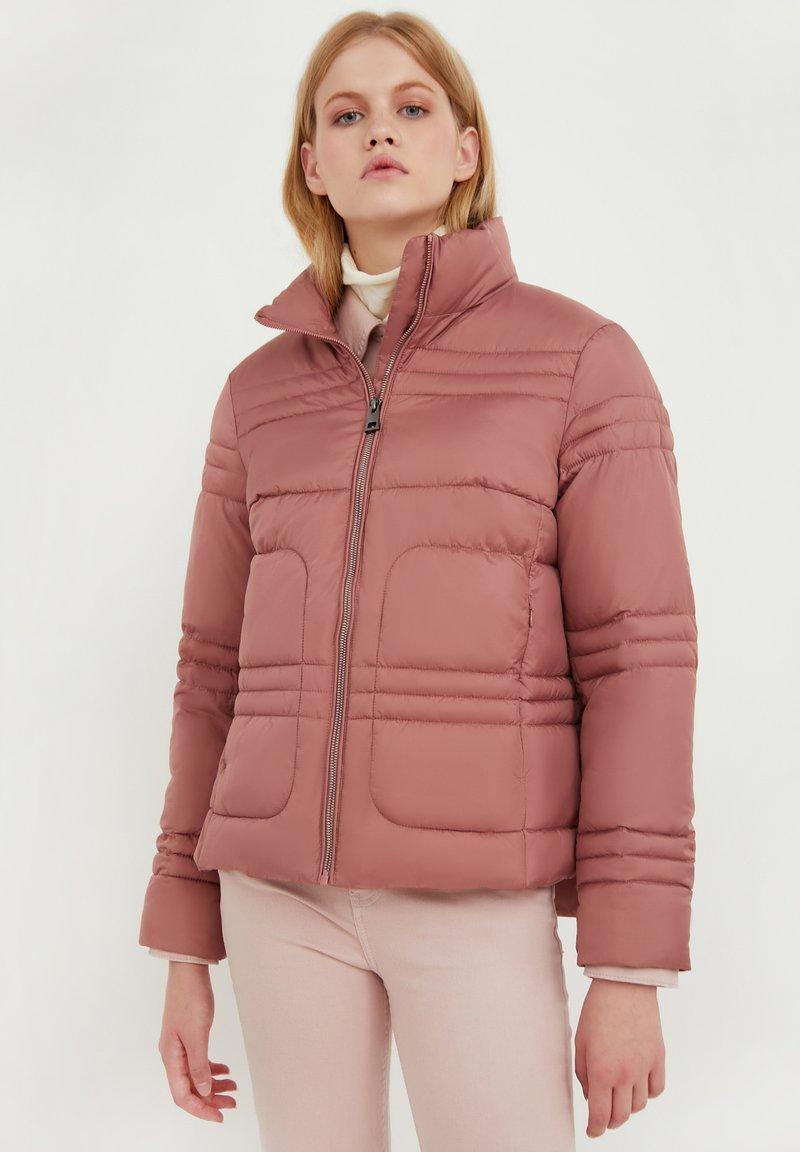 Finn Flare - Winter jacket - dark pink