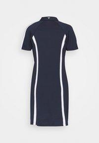 Callaway - COLOURBLOCK DRESS 2-IN-1 - Leggings - peacoat - 2