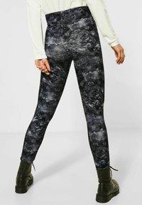 Street One - Leggings - Trousers - schwarz - 1