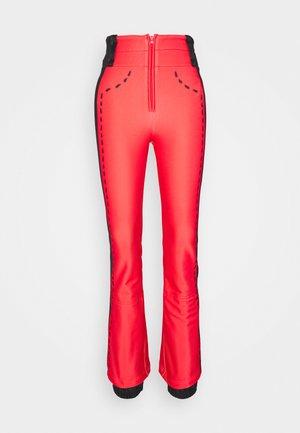 DIXY SOFT - Spodnie narciarskie - red