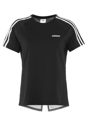 3S TEE - T-shirt con stampa - black