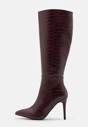 PRESIDENT - High heeled boots - mulberry