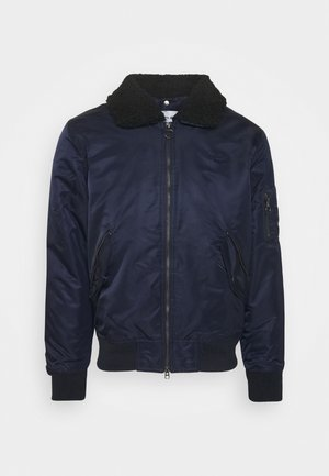 Bomber bunda - dark navy blue/sergeant