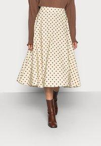 Love Copenhagen - VULAN SKIRT - A-line skirt - brown/cement - 0
