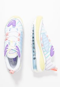 Nike Sportswear - AIR MAX 98 - Trainers - luminous green/white/atomic violet/bleached coral/psychic blue/light aqua - 3