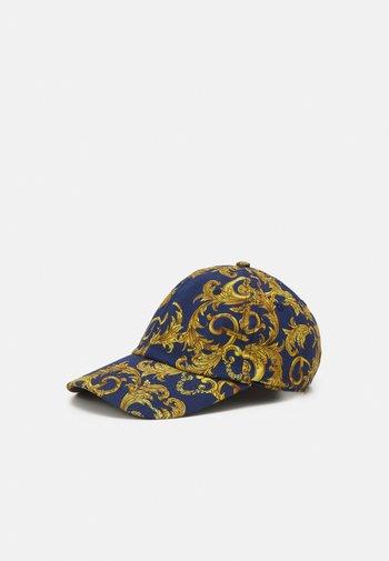 UNISEX - Cap - dark blue/gold