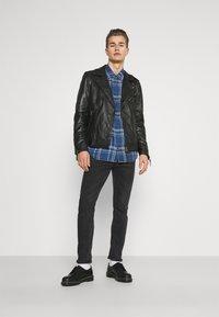 Oakwood - SOLDIER - Leather jacket - black - 1