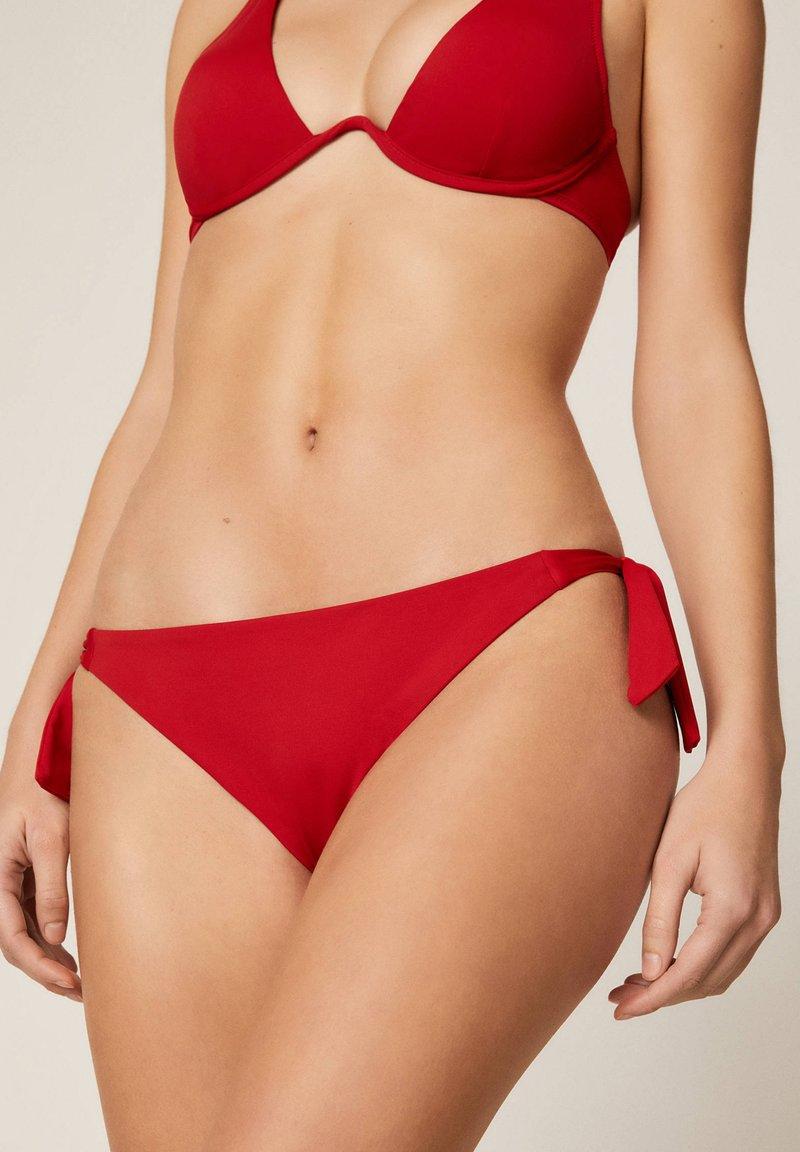 OYSHO - Bikini bottoms - red