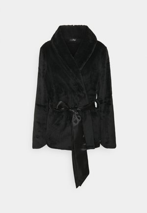 DRESSING GOWN JACKET - Accappatoio - black