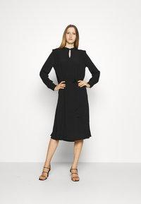 Bruuns Bazaar - LILLI COVER DRESS - Day dress - black - 1