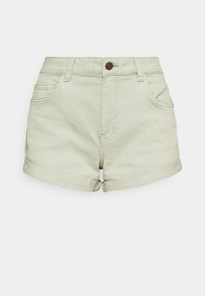 NMSHORTY - Denim shorts - slate gray