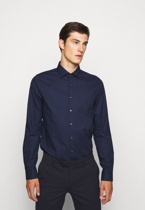 CHECK EASY CARE SLIM - Formal shirt - navy
