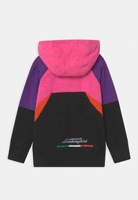 Automobili Lamborghini Kidswear - MULTICOLOR HALF ZIP - Sweatshirt - pink johor - 1
